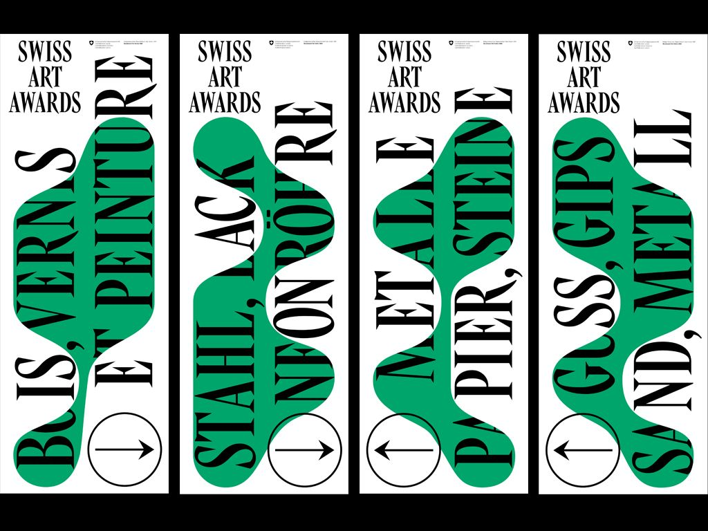 Poster design reference - Ludovic Balland Swiss Art Awards Graphic Postersdesign Referencepackage