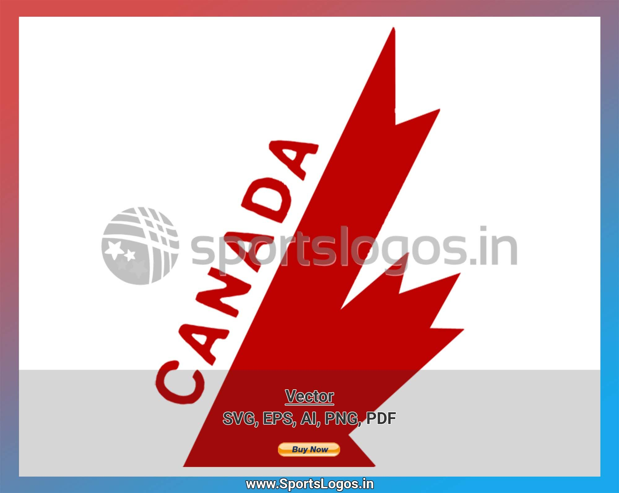 Canada Hockey Sports Vector Svg Logo In 5 Formats Spln000667 Sports Logos Embroidery In 2020 Sport Hockey Vector Svg Hockey