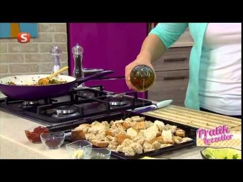 Pratik Lezzetler | Bayat Ekmek Kebabı - Çikolatalı Sufle | 61. Bölüm Yem...
