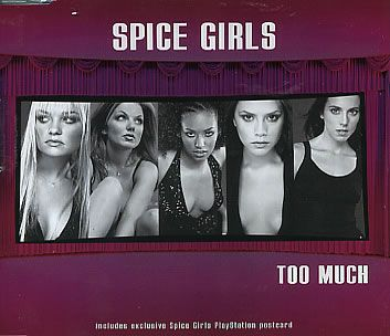 "For Sale - Spice Girls Too Much + Postcard Germany  CD single (CD5 / 5"") - See this and 250,000 other rare & vintage vinyl records, singles, LPs & CDs at http://eil.com"