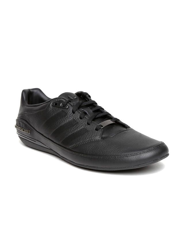bcc2b8f6994e Porsche Design by Adidas Originals Black Porsche TYP 64 2.0 Leather Casual  Shoes