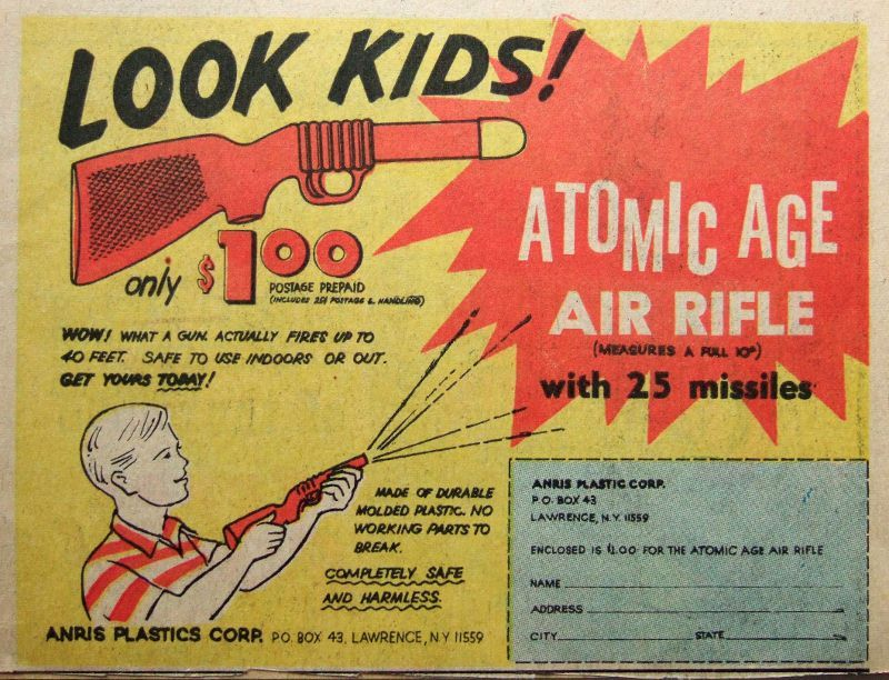 Look Kids. #atomicage #vintage #game #design #futurism