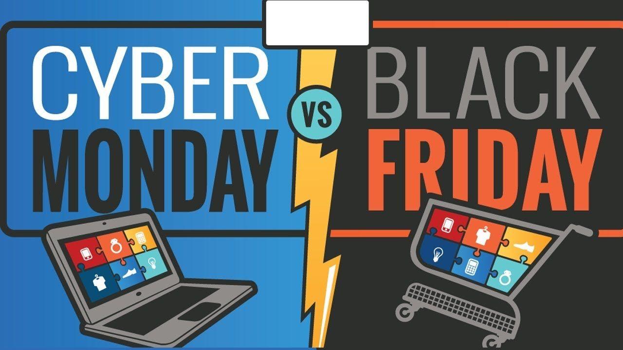 Es Mejor Black Friday O Cyber Monday Cual Es Mas Barato Lunes Cibernetico Black Friday Cyber Monday Black Monday Monday