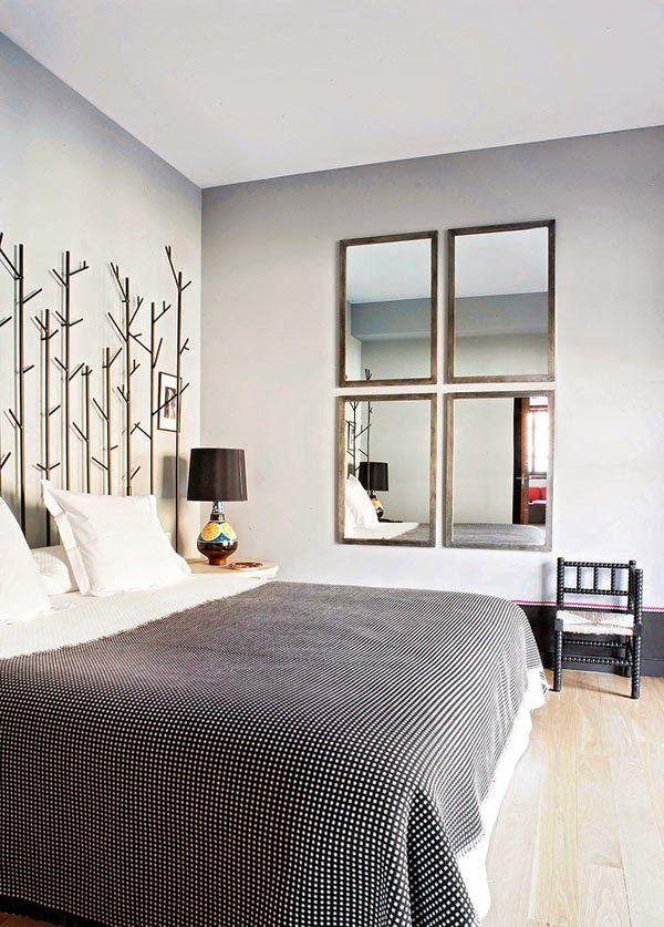 decora tu dormitorio con espejos