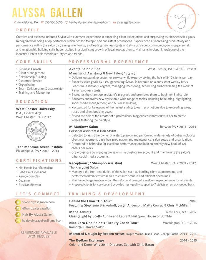 How To Create The Perfect Résumé (With images) Perfect