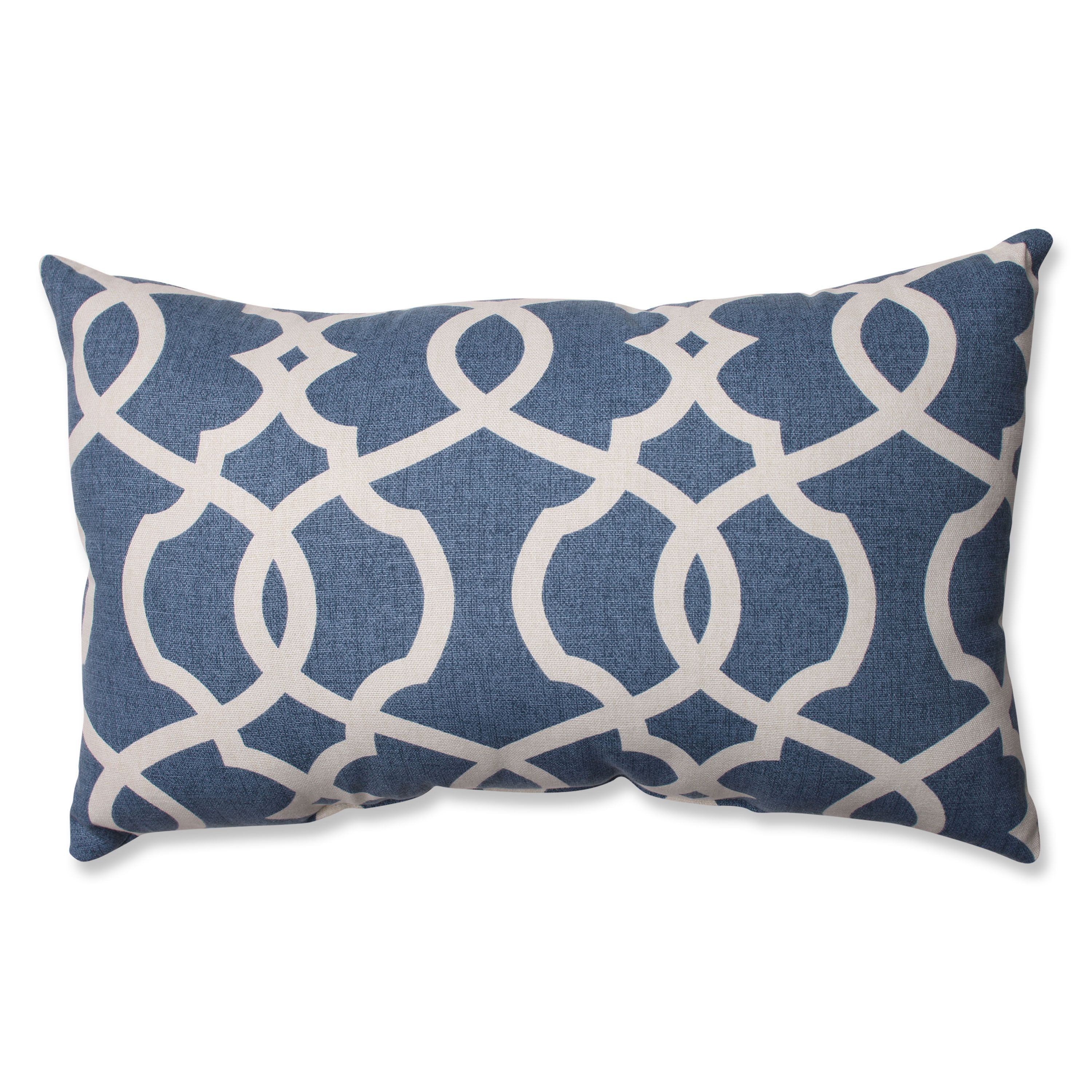 This damask decorative throw pillow is an