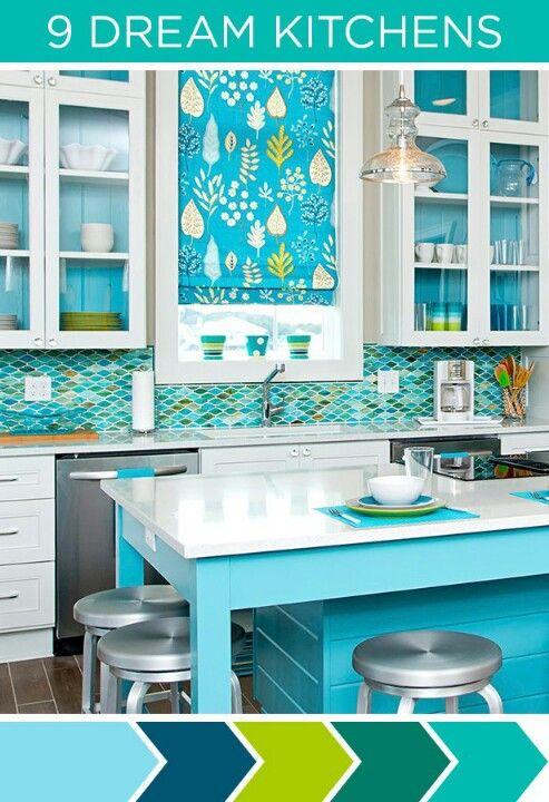 Colorful Kitchen Colorful Kitchen Decor Kitchen Colors