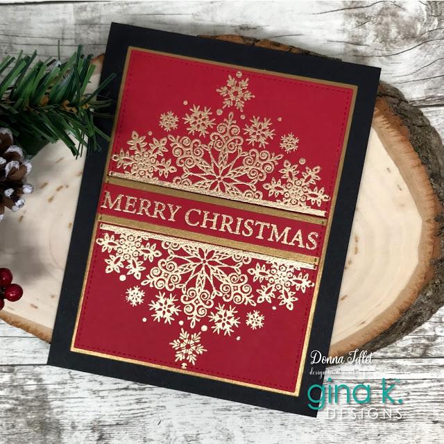 Gina K Designs Celebrates 2020 Stamptember With Simon Says Creative Lady Christmas Card Design Christmas Cards Handmade Christmas Cards To Make