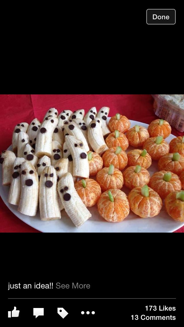 Party food Halloween party ideas Pinterest Halloween ideas and
