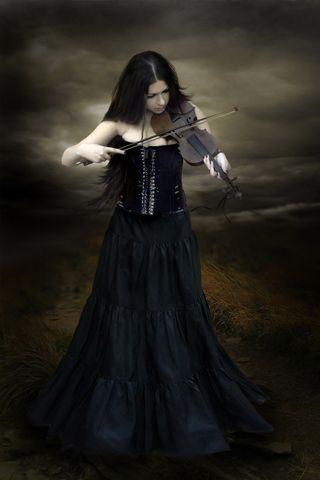 Dark Violin Player Beautiful Dark Art Gothic Fantasy Art Dark Fantasy