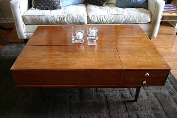 Unbelievable Mid Century Modern Coffee Table Makeover Mid