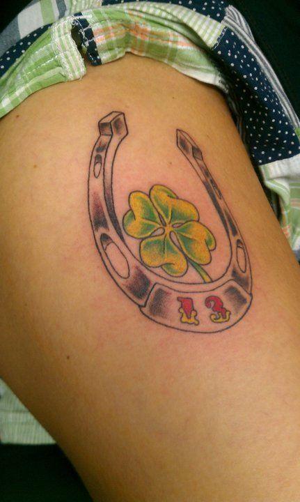 Lucky number 13 tattoo   13 tattoos Pattern tattoo