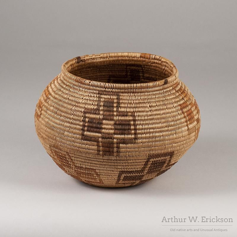 Image result for paiute pottery coiled baskets native