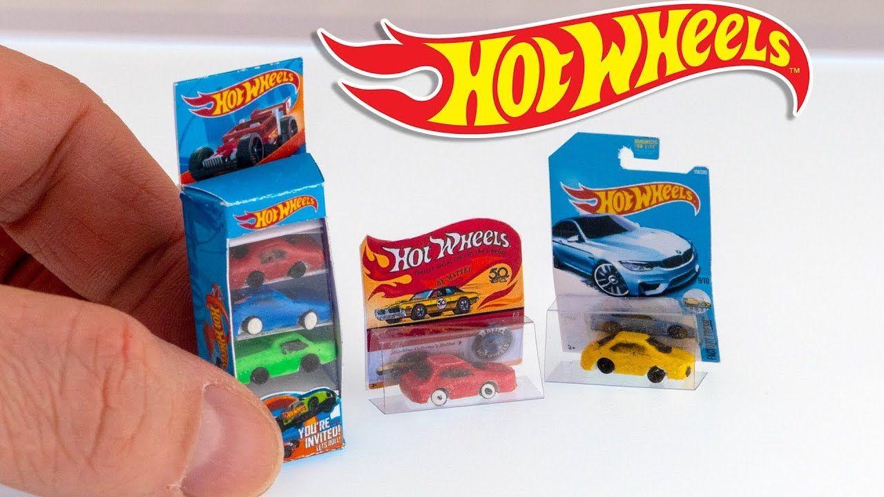 Diy Hot Wheels Car Set Miniature Dollhouse 112 Scale No