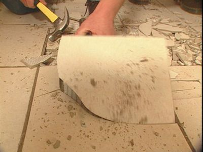 How To Remove Tile Flooring House Diy Pinterest Tile Flooring