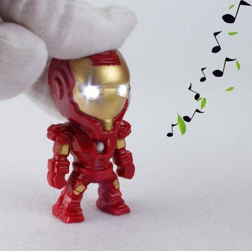 Ironman Mini Figure Keychain