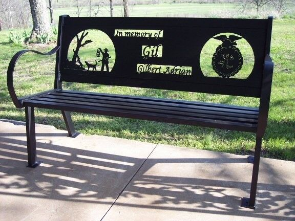 Amazing Memorial Bench Awesome Found On Custommade Com In 2019 Short Links Chair Design For Home Short Linksinfo