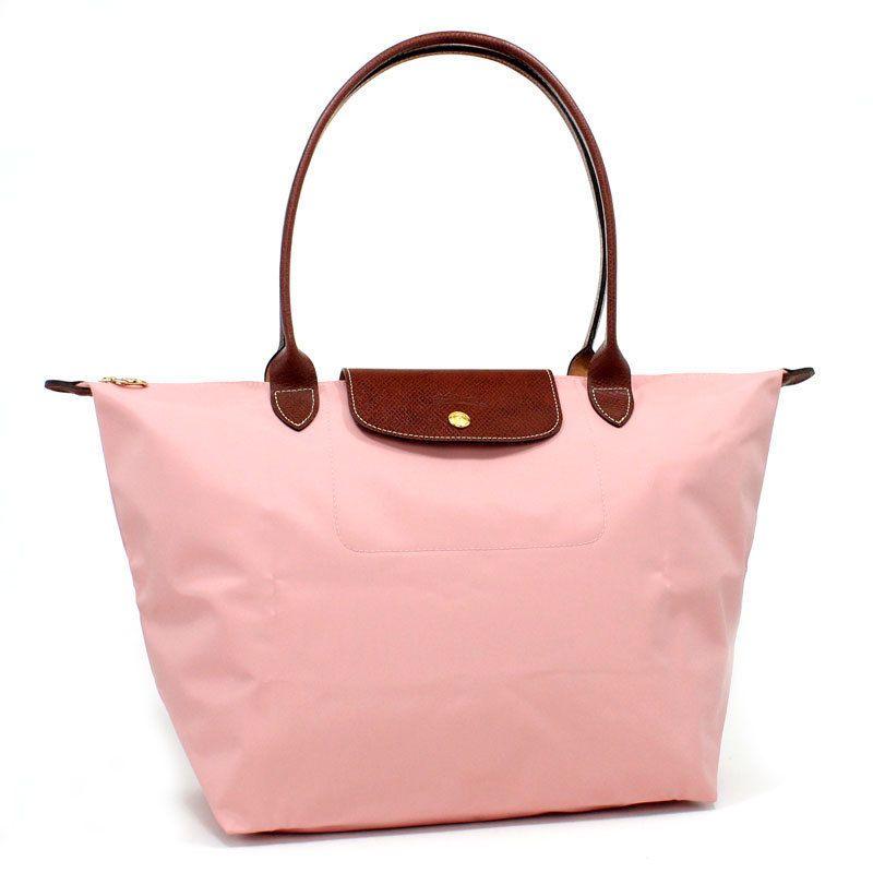 b590e25c6891 Longchamp Le Pliage 1899 Tote Nylon Leather Womens Crossbody Handbag Small  Pink #fashion #clothing #shoes #accessories #unisexclothingshoesaccs ...