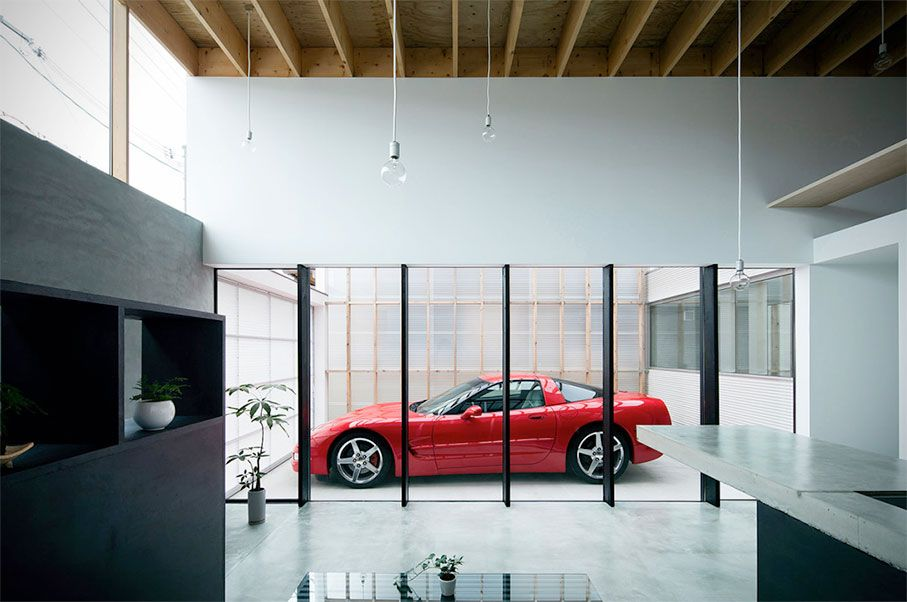 Image Result For Display Car In House Modern House Design House