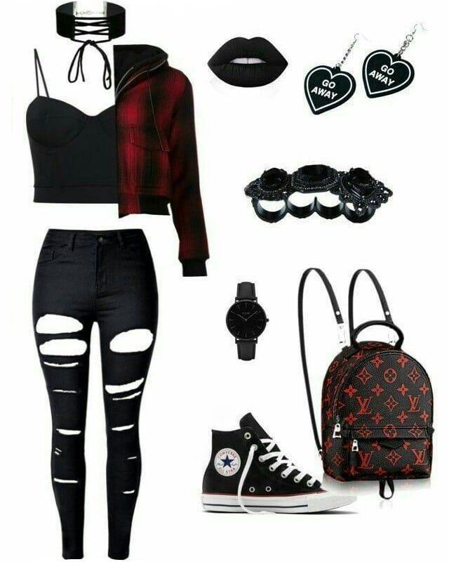 Vêtements Emo