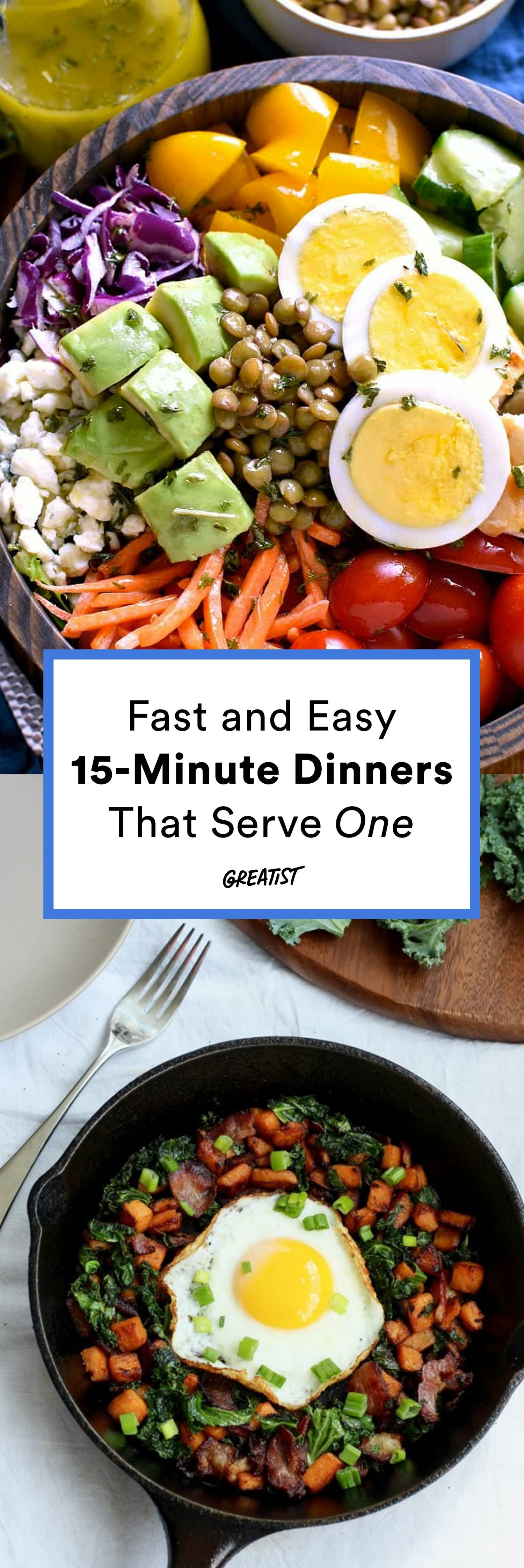 15 minute dinners for one so you can stop relying on crappy frozen 15 minute dinners for one so you can stop relying on crappy frozen meals diet mealsfood dinnerseasy forumfinder Images