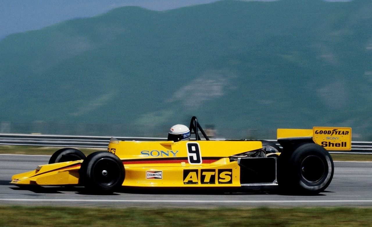 Jochen Maas Ats Ford Hs1 1978 Brazilian Gp Rio De Janeiro
