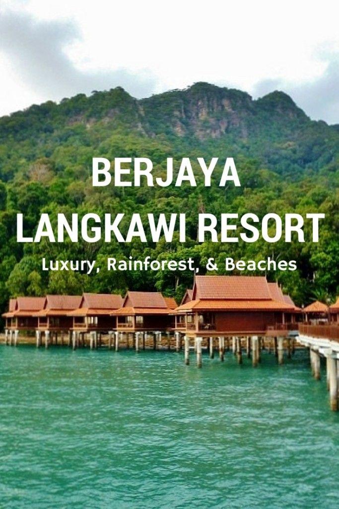 Rainforest, Beach & Monkeys At The Berjaya Langkawi Resort