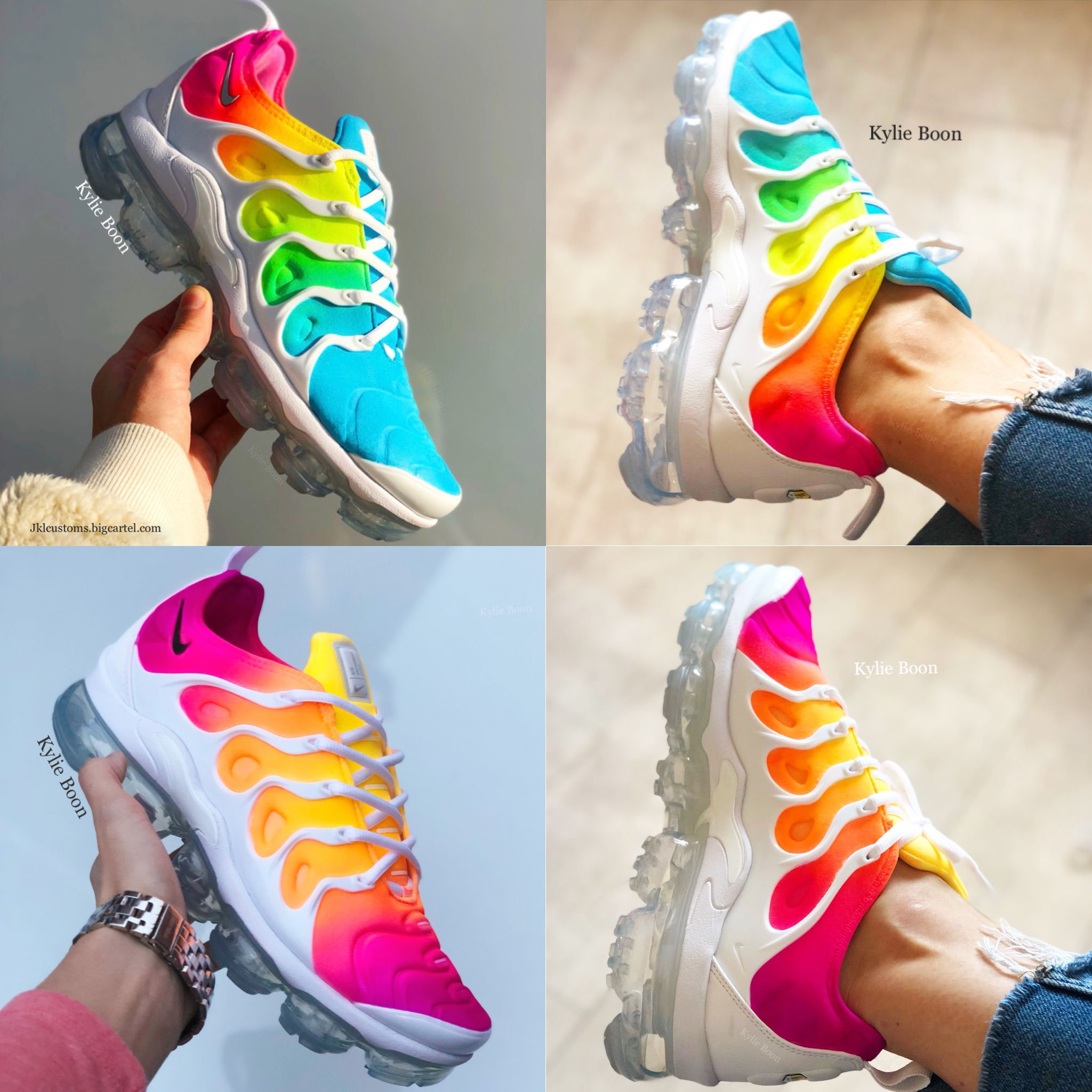 the best attitude 14e75 2b76f Vapormaxplus custom by myself Kylie boon  jklcustoms.bigcartel.com