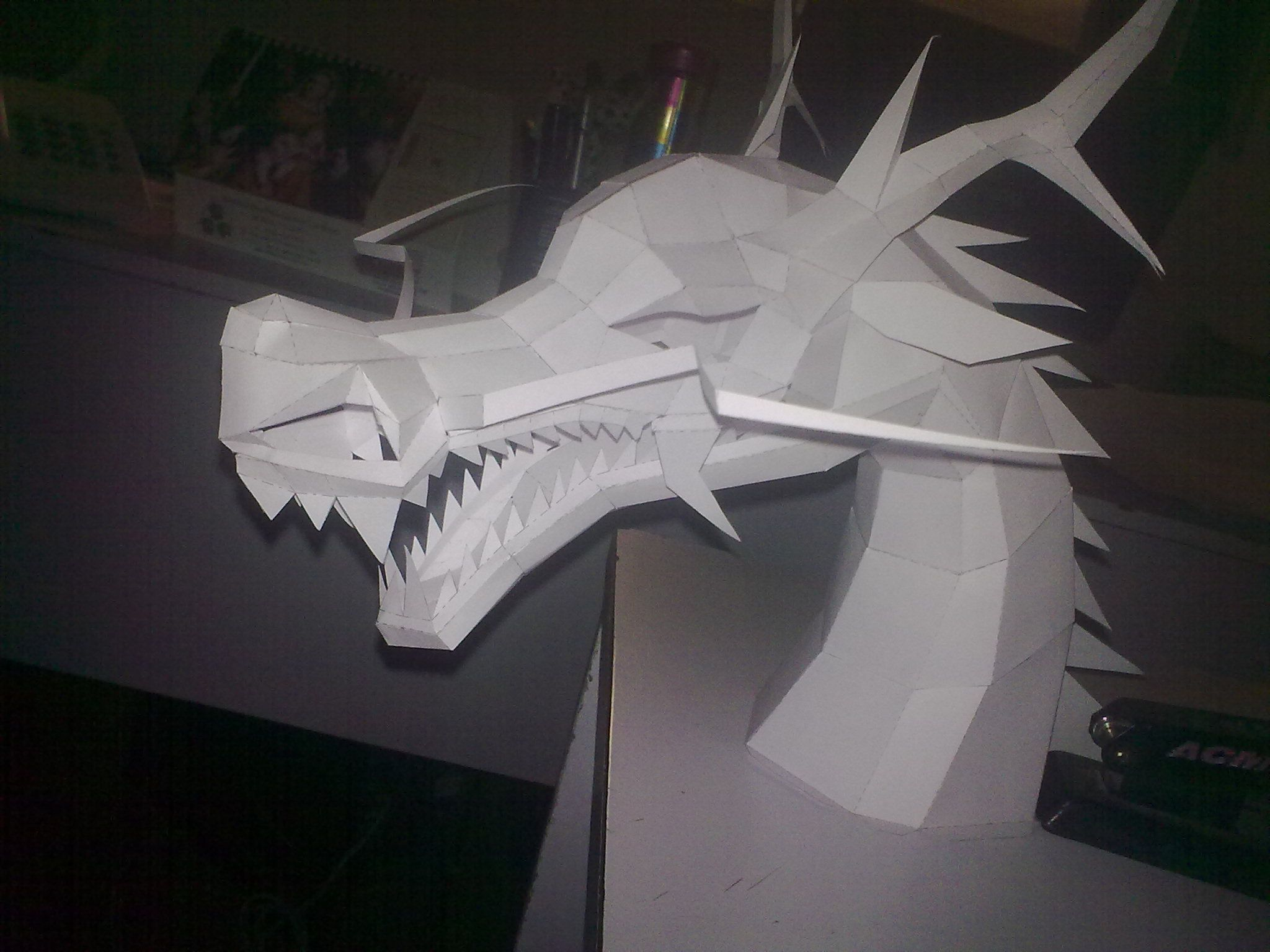 Dragon papercraft | Paper models | Paper Crafts, Paper ... - photo#50