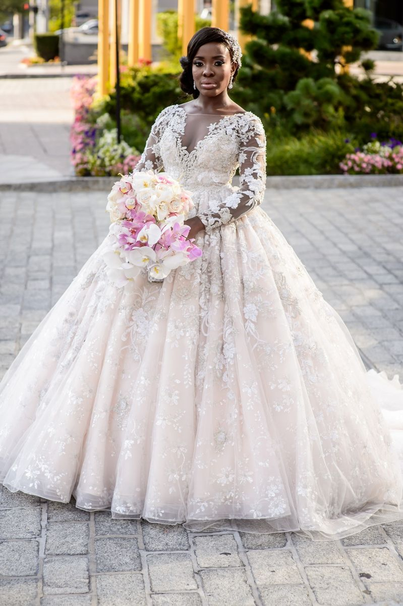 Wedding dresses ball gown lace  YSA Makino Lace Ball Gown  My Wedding   Pinterest  Lace