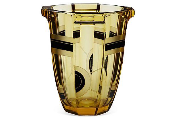 Karel Palda Art Deco Vase on OneKingsLane.com