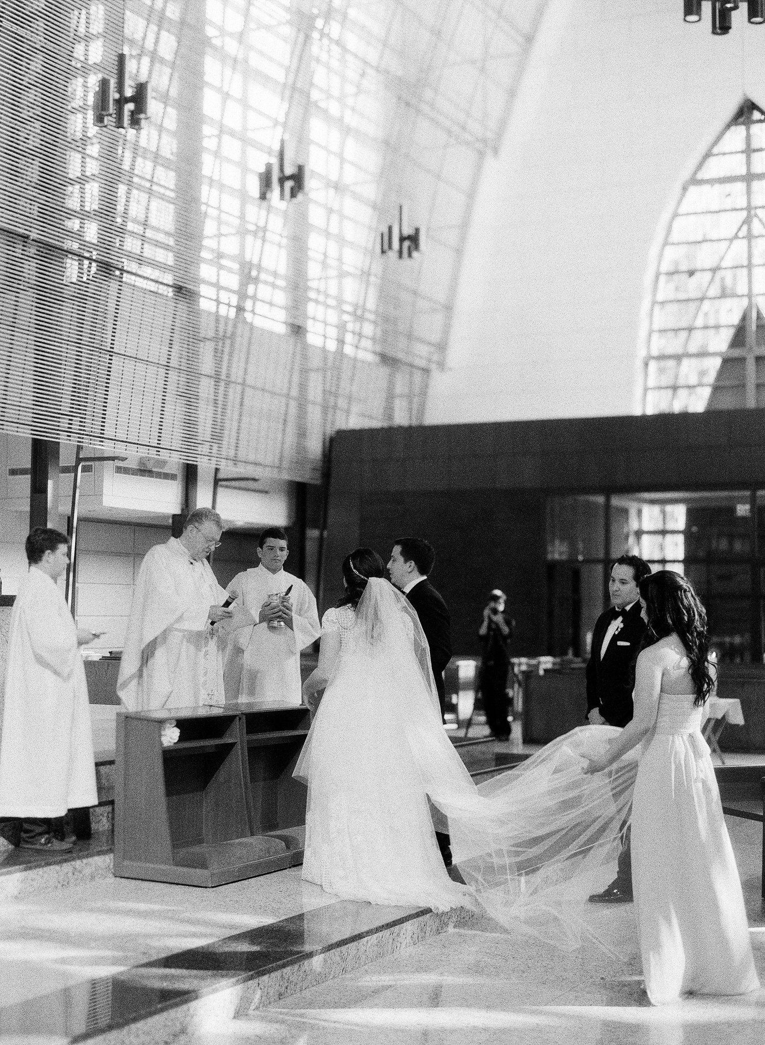 Ceremony Venue Idea Traditional Wedding at Miami Catholic
