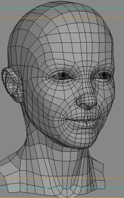 3d wire pinterest 3d characters for 3ds max face modeling