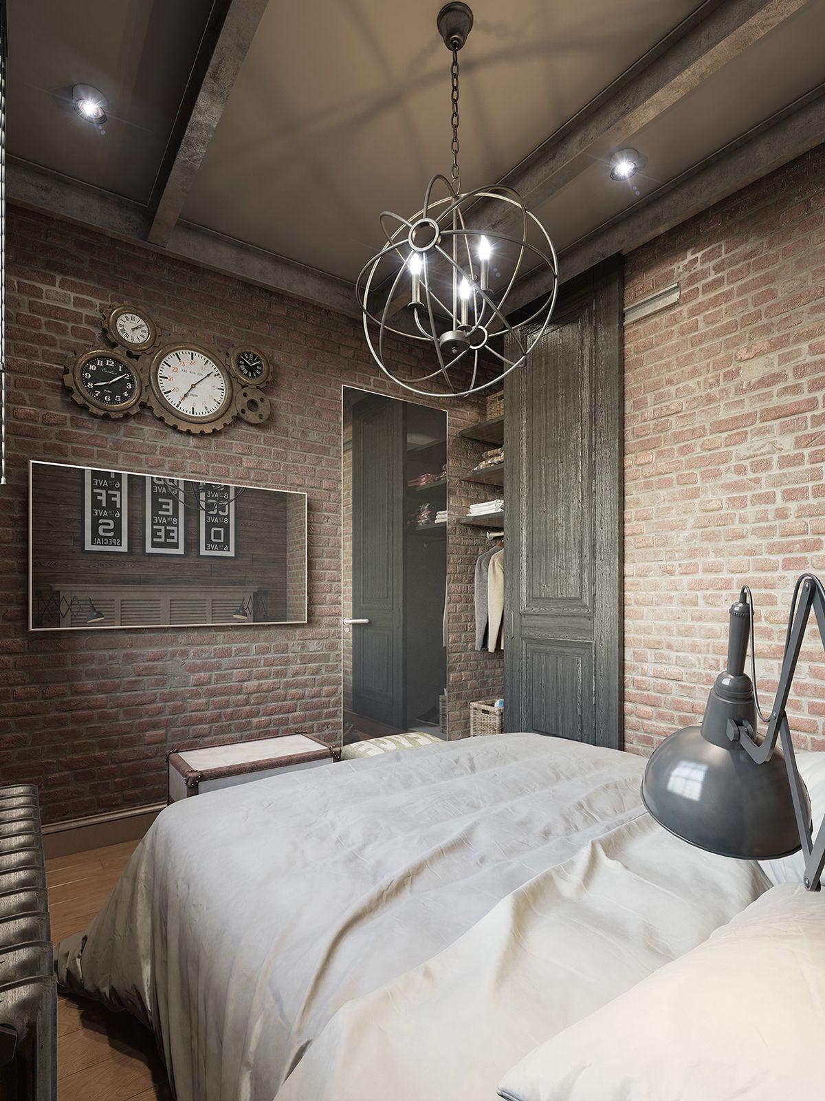 Farben des wohnraums 2018 dunkle farbe für kleine wohnung interior design mit freigelegten