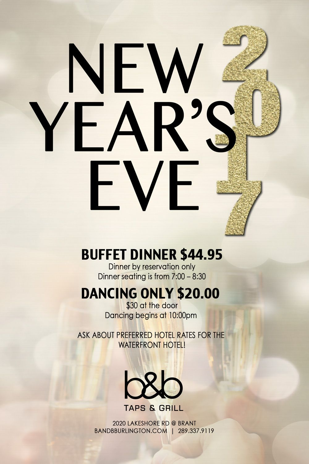 Want to have a great New Year\'s Eve party, join us at Beaver and ...