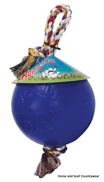 Horsemen S Pride Jolly Ball Romp N Roll This Ball On A Rope Can Be
