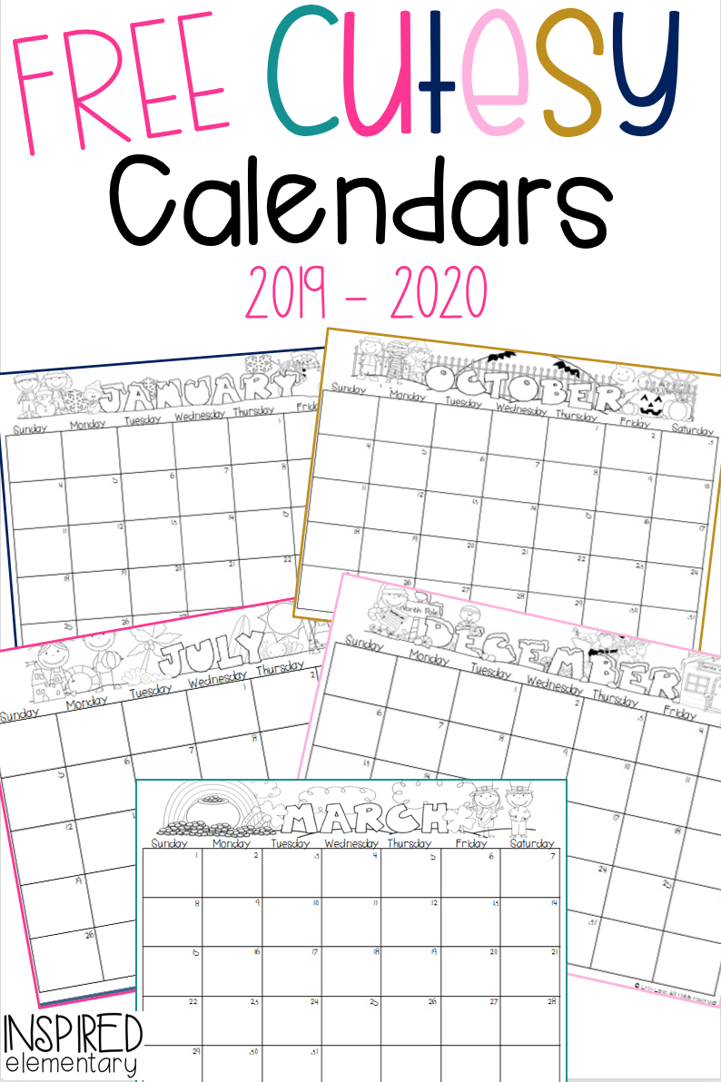 Calendar Gift Cutesy Calendar FREEBIE! is part of Classroom calendar, Preschool curriculum, Preschool calendar, Teaching classroom, Teacher calendar, Preschool classroom - Handprint calendars make the sweetest gift for parents to receive from their student during the holiday season! I love these because they are simple and very budgetfriendly  All you will need is a set of my (FREE) Cutesy Calendars and some washable paint that is safe for finger painting  First, have the students use their…