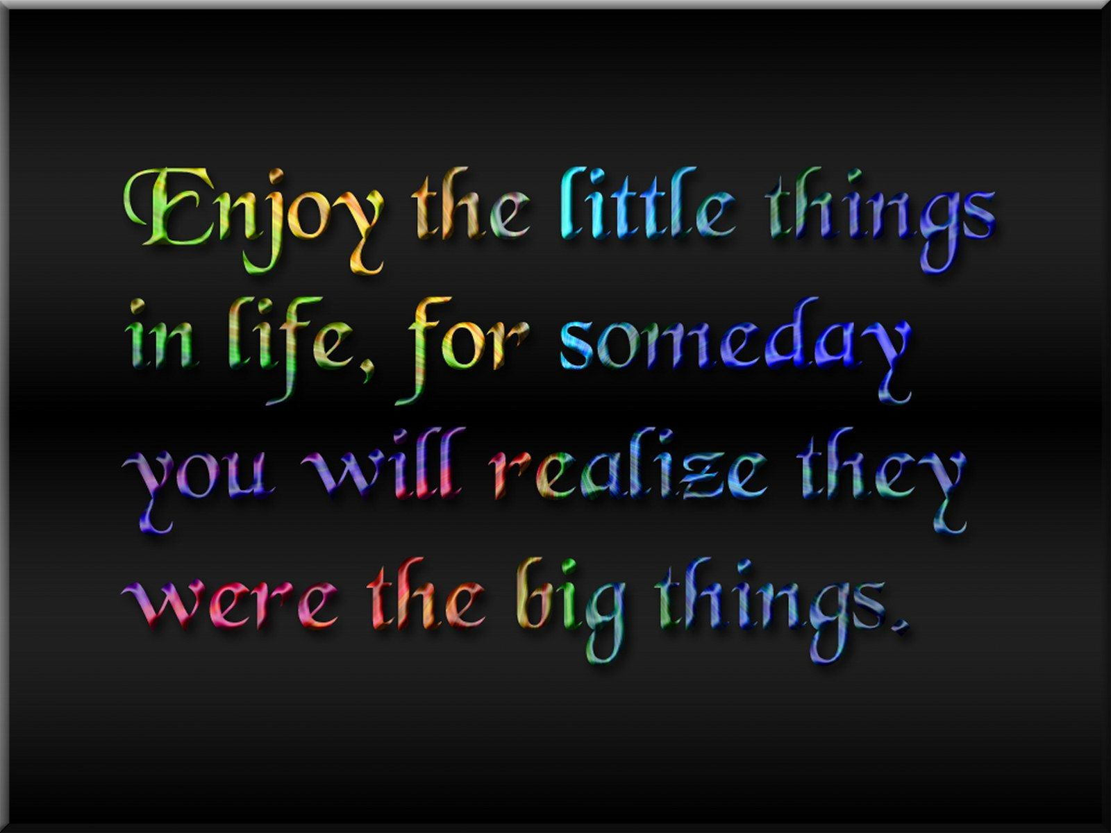 """Free Quotes About Life The Life Enjoy Quotes Is """"The Trick Is To Enjoy Lifedon't Wish"""