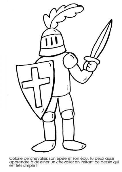 Coloriage Armure Chevalier.Coloriage A Imprimer Chevalier En Armure Rozne Craft