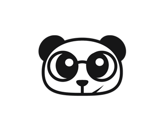 doctor panda bear logo design