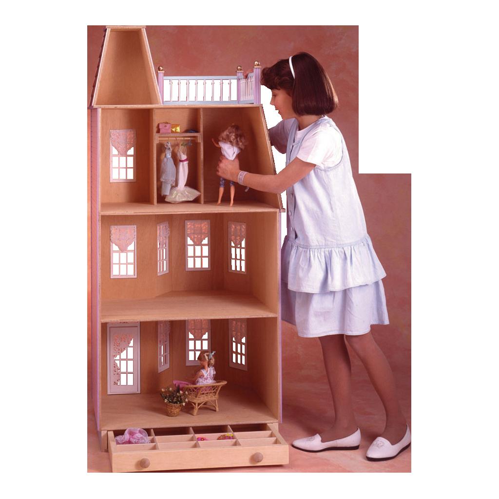 Irra Bay Dollhouse Furniture Bed Room /& Wardrobe