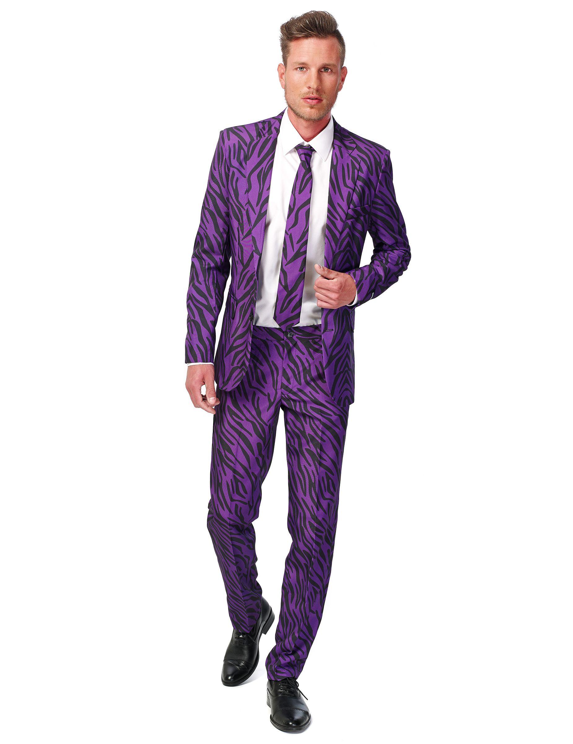 Traje tigre violeta hombre Suitmeister™ | Traje, Comprar y Coser