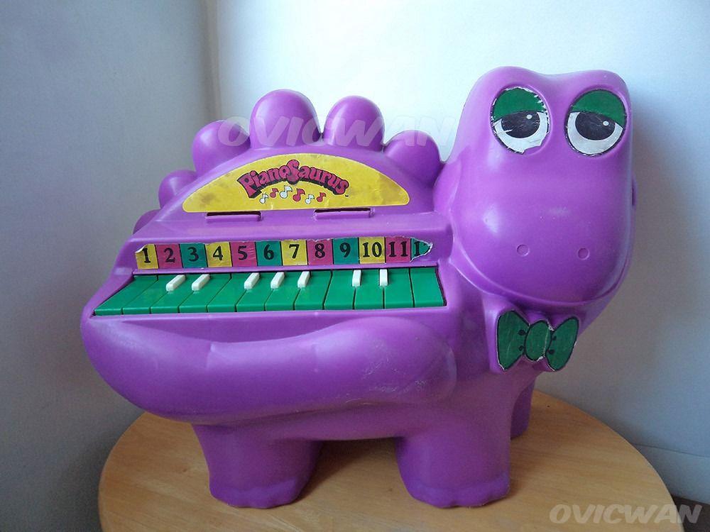 7b08db776a Juguete Pianosaurio Vintage Ochentas Iga Pianosaurus Vt24 - $ 425.00 en  MercadoLibre