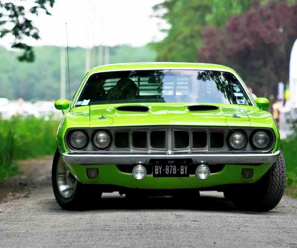 1971 Hemi Barracuda