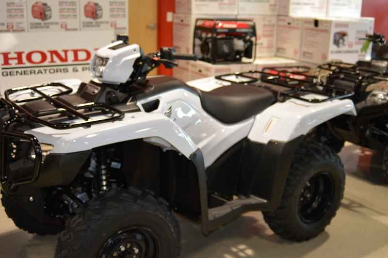 New 2017 Honda FourTrax Foreman 4x4 ES EPS ATVs For Sale in Florida. 2017 Honda FourTrax Foreman 4x4 ES EPS, 2017 Honda® FourTrax® Foreman® 4x4 ES EPS Choose The Right Tool. Some jobs, it doesn t matter if the work gets done today or tomorrow. Or if it s raining or cold or blazing hot outside. Others, need to get done now, and done right the first time. Especially if you have people counting on you, or your paycheck riding on the line. That s when you need the best tools and the best help…