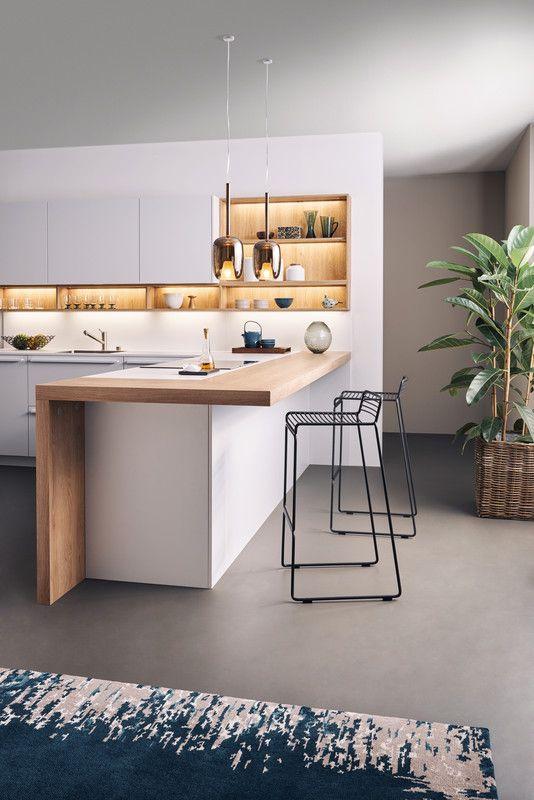 BONDI | SYNTHIA › Lack › Modern Style › Küchen › Küchen | Marken-Einbauküchen der LEICHT Küchen AG #contemporarykitcheninterior