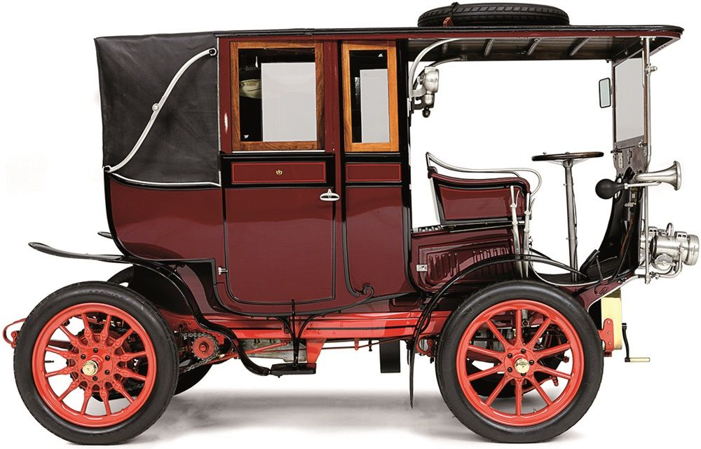 MORS 14/19-HP LANDAULETTE TOWN CAR 1904   ........................................................ Please save this pin... ........................................................... Visit Now!  AutomaticVehicle.com