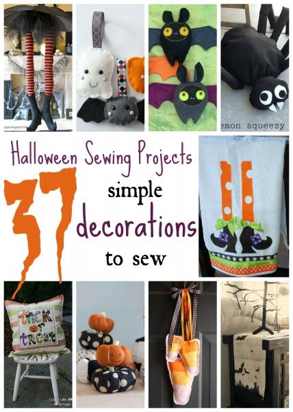 Love a handmade touch to your Halloween decor? Try one of these 37