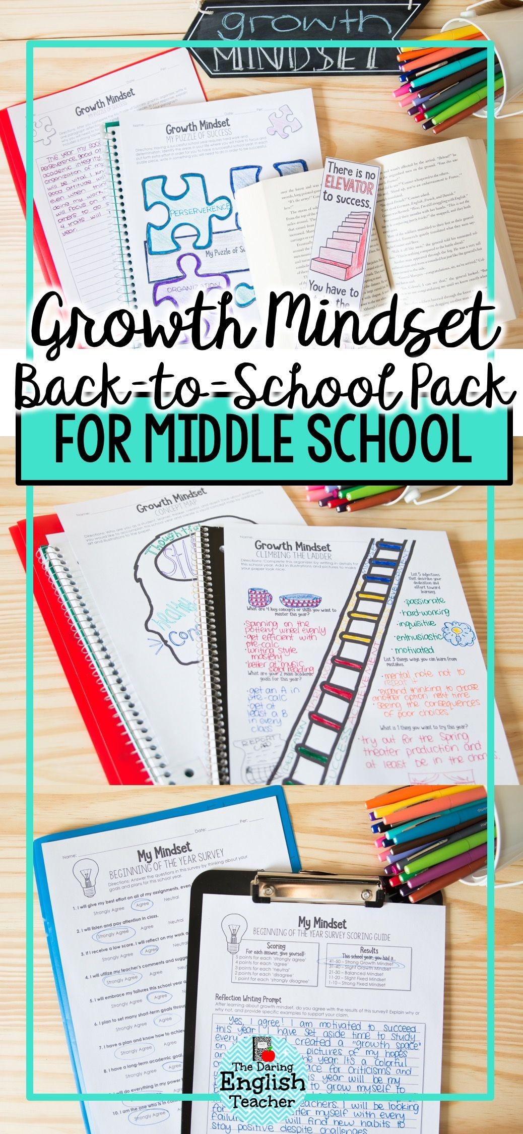 Engage Your Middle School Students Growth Mindset