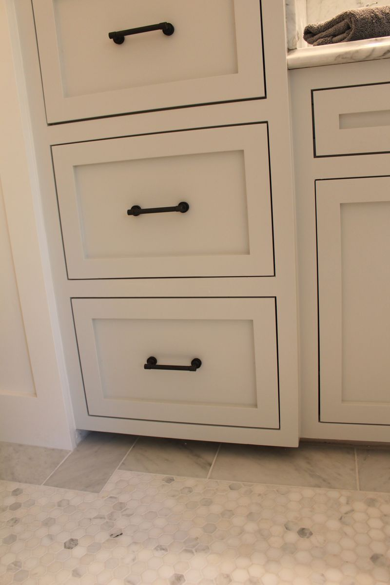 Cabinet Hardware. The Cabinet Color Is Wickham Gray By Benjamin Moore.  Great Blog,